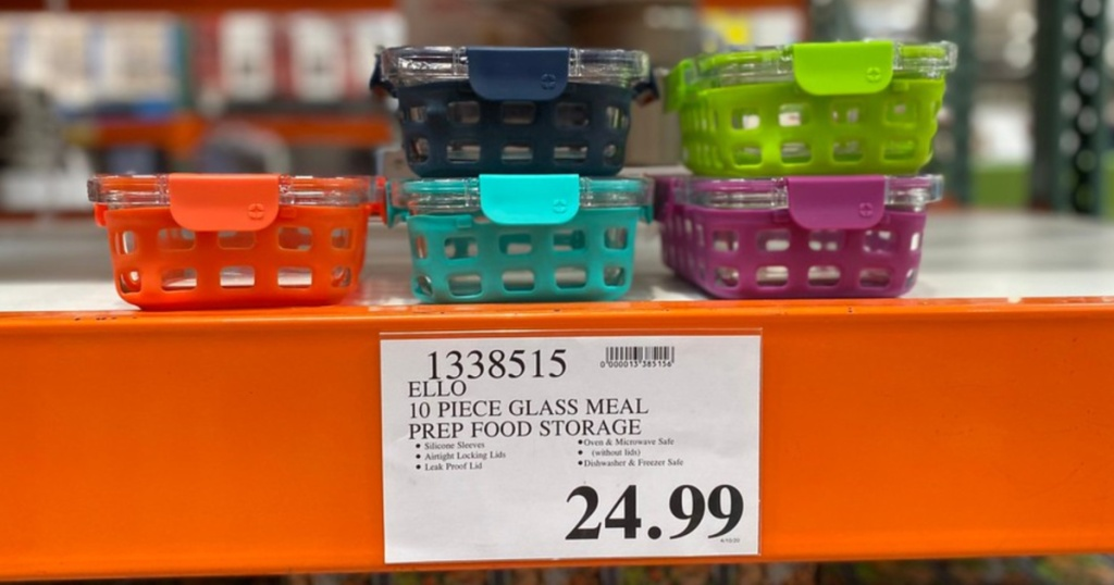 ello food storage glass containers