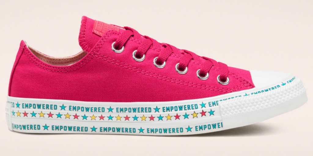 empowered by women chuck taylor single shoe