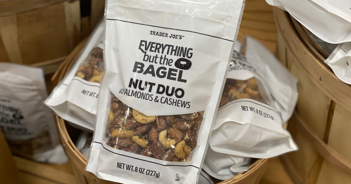 Everything but the Bagel Nut Duo at Trader Joe's