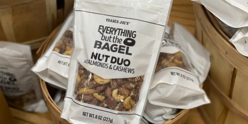 Trader Joe's Now Sells Everything But The Bagel Nut Duo