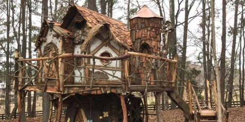 Don't Have $50,000 to Spend on a Custom Treehouse?!
