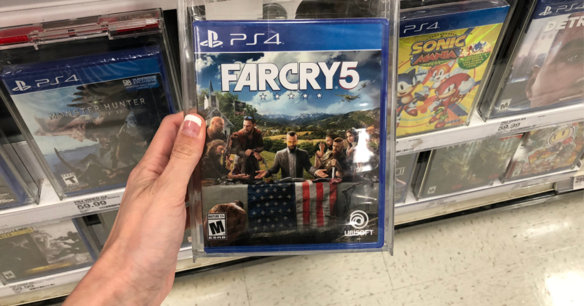 far cry game in hand at store