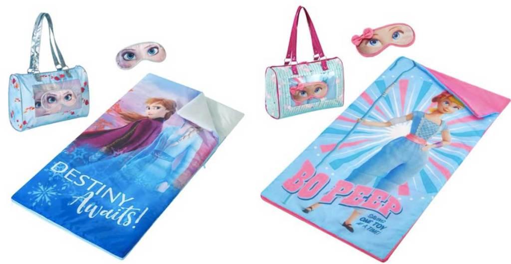 frozen 2 and bo peep sleeping bag kits