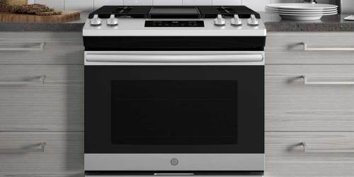 GE Gas Range w/ Steam-Cleaning Oven Just $857.70 Delivered on HomeDepot.com (Regularly $1,500)