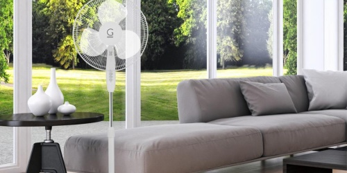 Genesis Oscillating Fan Only $24.99 on Home Depot (Regularly $44) | Great for Dorms!
