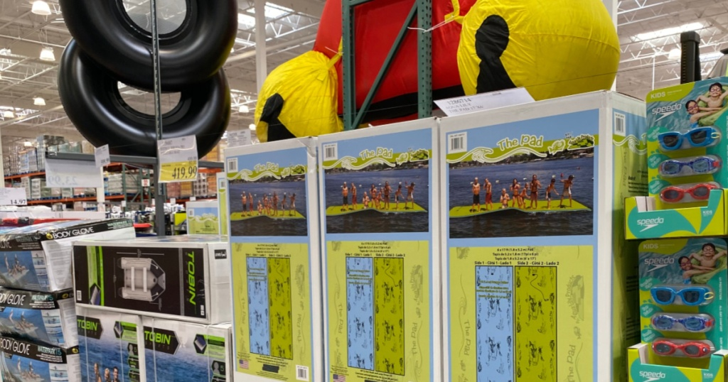 giant floating pad at costco
