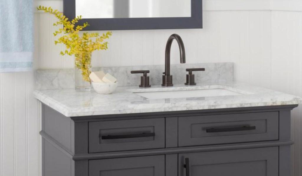 glacier bay dual handle bathroom faucet
