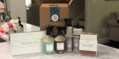 Score a FREE Mrs. Meyer's Cleaning Set w/ Your First Grove Order