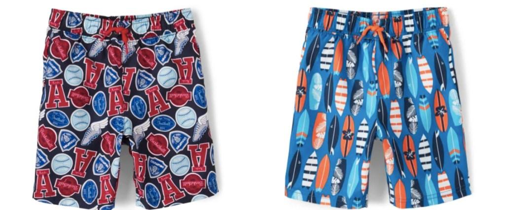 gymboree boys swim shorts