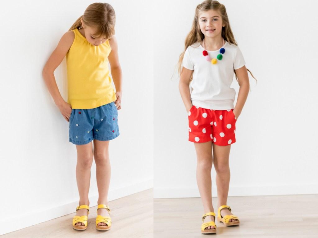 girls wearing cute summer outfits