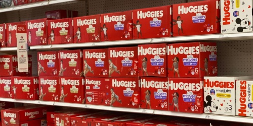 Huggies Little Movers Diapers 324-Count Just $69 Shipped on Amazon