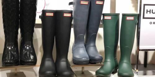 Hunter Tall Rain Boots from $62.54 Shipped on Walmart.com