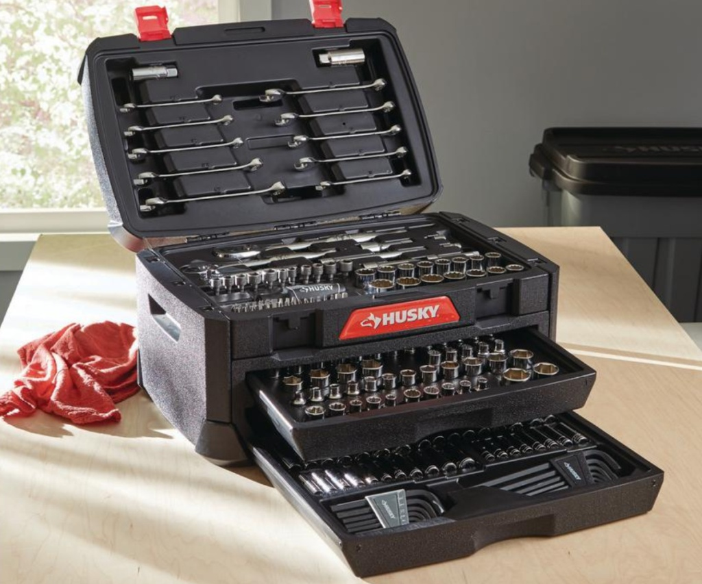 husky tool set 230 piece