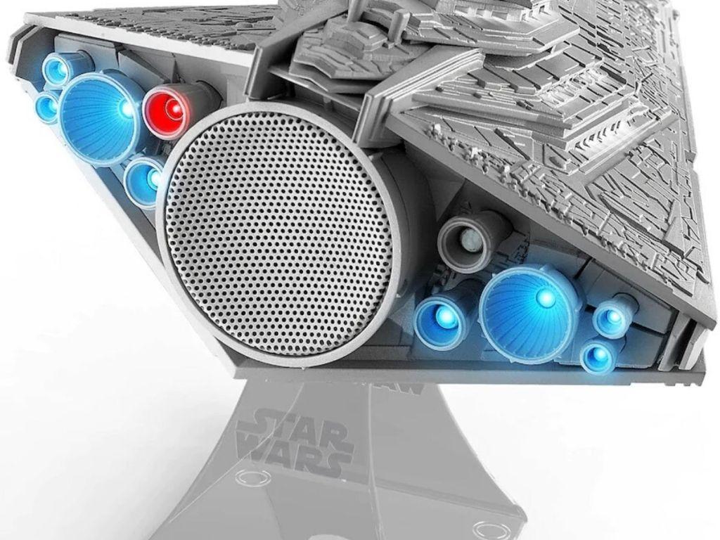 star wars destroyer shaped bluetooth speaker