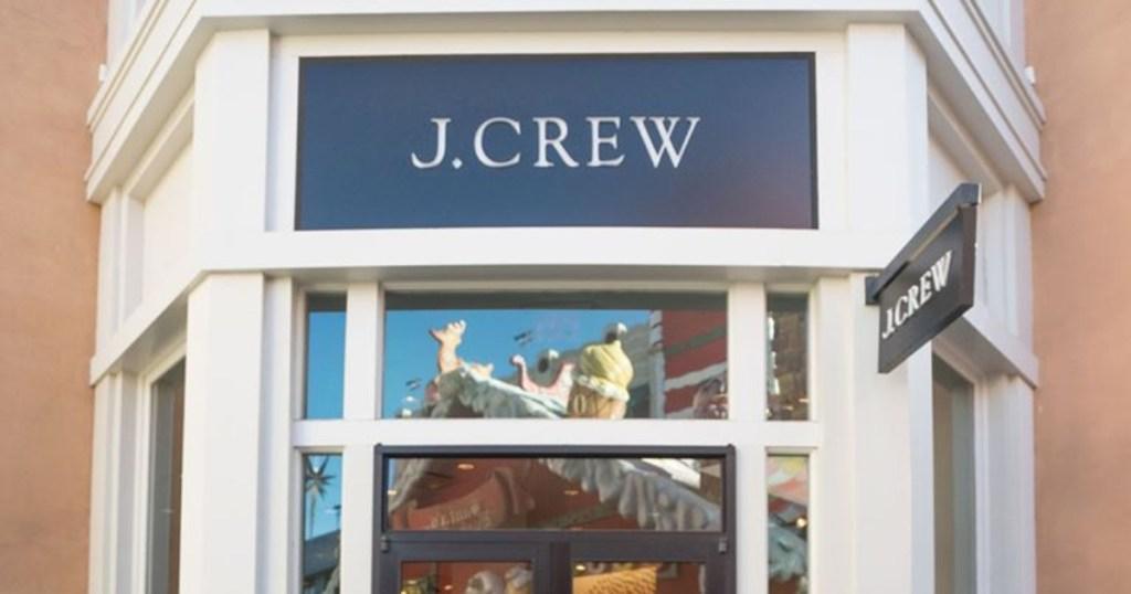 J. Crew store front