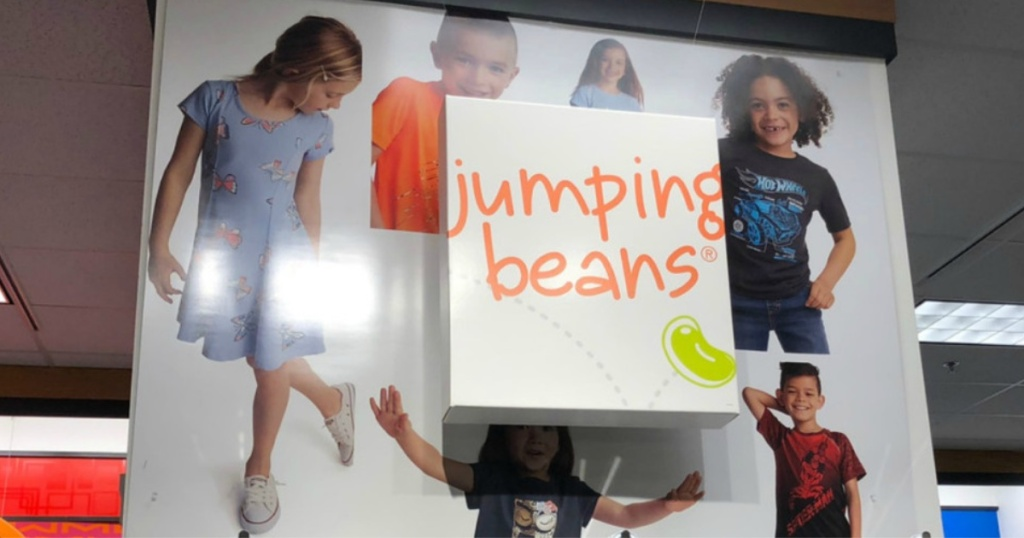 jumping beans sign in store