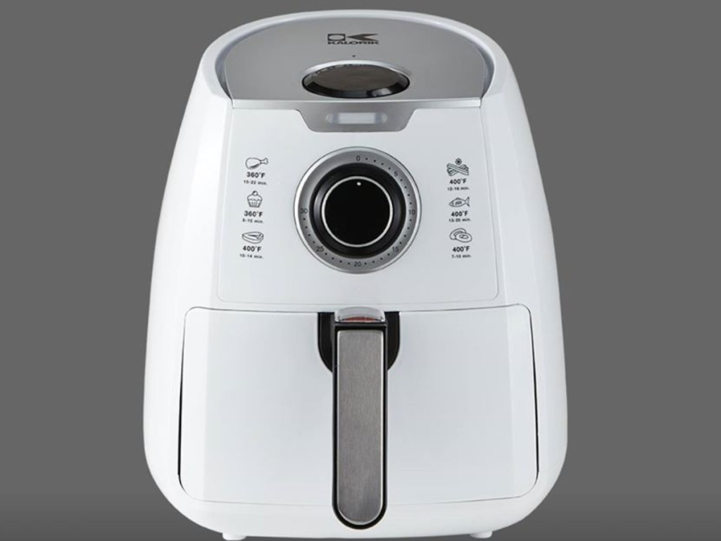 Kalorik white analog air fryer