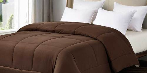 Reversible Down Alternative Comforter Only $21.99 on Macy's | Great Reviews