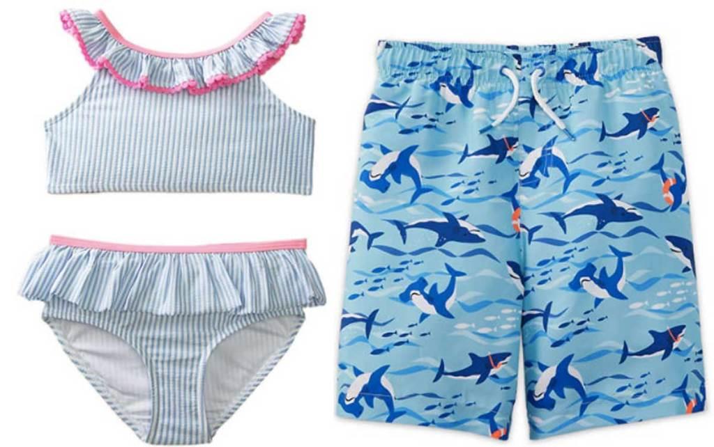 girls and boys swimwear