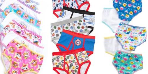 Marvel & Star Wars Underwear 5-Packs Just $7 on Belk.com (Regularly $18)