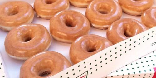 Krispy Kreme Original Glazed Dozen ONLY $5 on September 25th