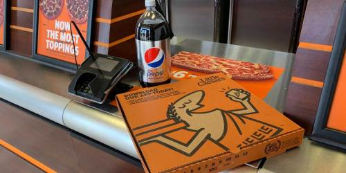 Free Soda 2-Liter with ANY Little Caesars Pizza Purchase