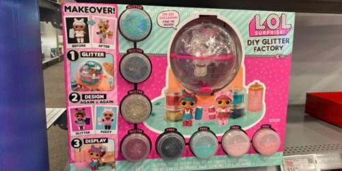 L.O.L. Surprise! DIY Glitter Factory Only $21.99 on BestBuy.com (Regularly $40)