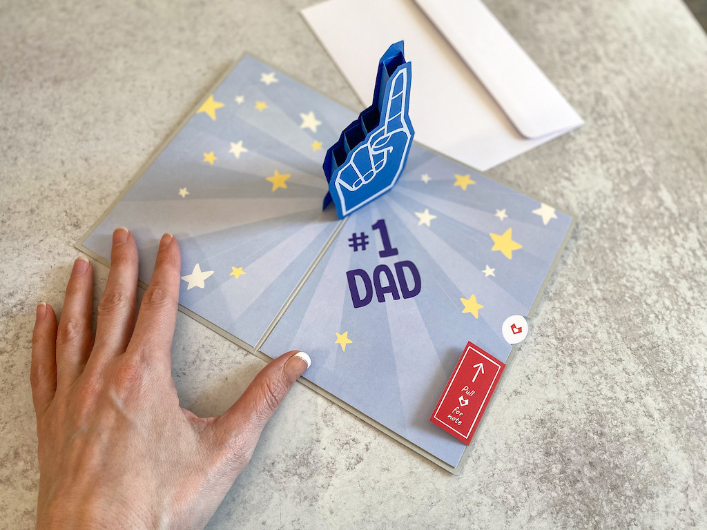 Lovepop 3D Pop Up Father's Day #1 Dad Card