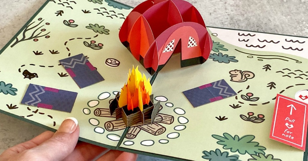 Lovepop 3D Pop Up Father's Day Camping Card