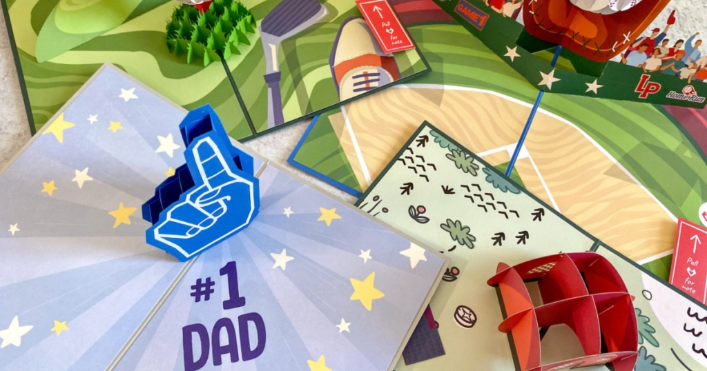 popup fathers day cards