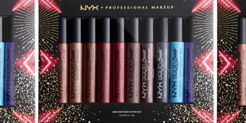 NYX 10-Piece Lipstick Set Just $18.70 on Macys.com (Regularly $55)