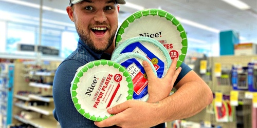 Nice! Paper Plates 40-Count Packs Just $1.75 Each at Walgreens