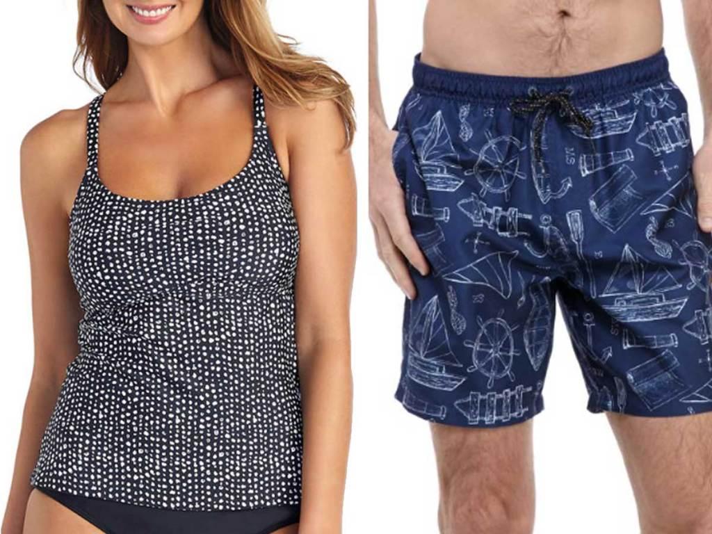 women's and men's swimwear
