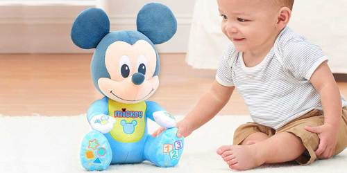 Disney Mickey Mouse Musical Plush Just $9 on Walmart.com (Regularly $18)