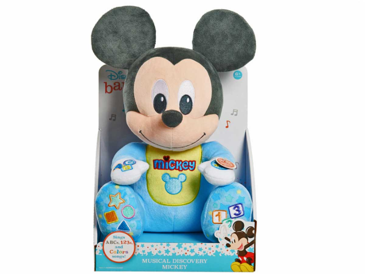 mickey mouse plush toy stock image