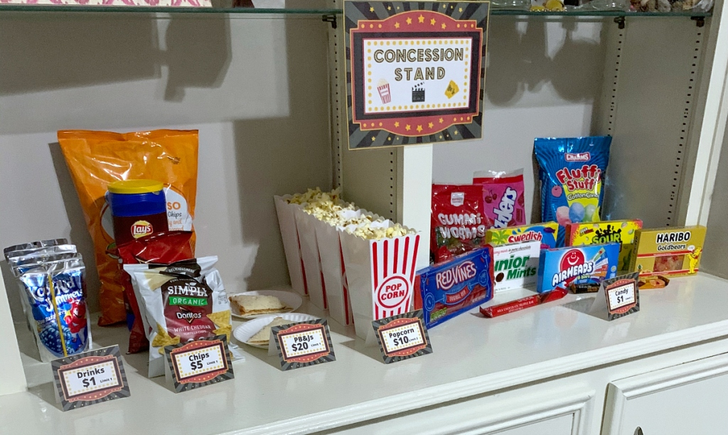 movie concession candy