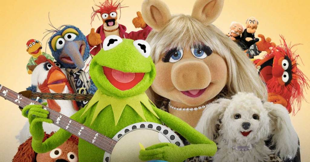 muppets in a group with kermit the frog on bango