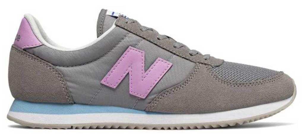 new balance gray pink shoes