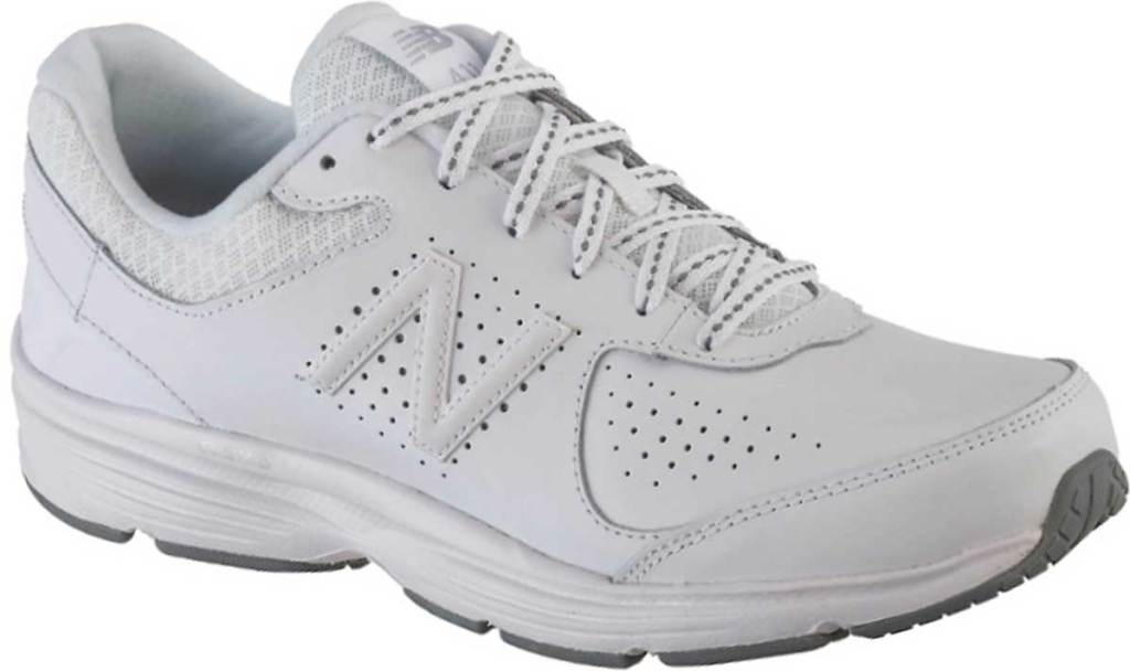 new balance walking shoes for women stock image
