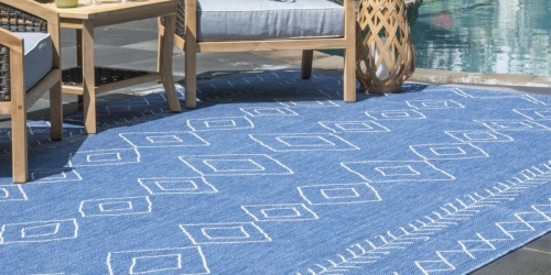 Upgrade Your Outdoor Space w/ BIG Saving on Area Rugs on HomeDepot.com