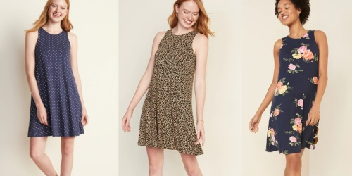 Old Navy Women's & Girls Swing Dresses Only $8 (Regularly up to $32)