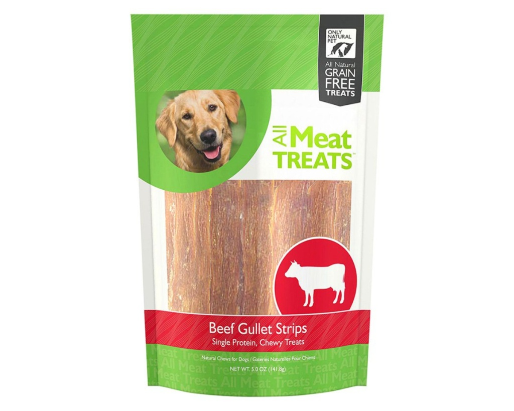 only natural pet dog treats in bag