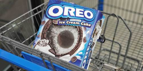 Get 50% Off an OREO Ice Cream Cake at Walmart