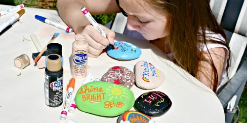 DIY Painted Kindness Rocks Craft – Inspire Positivity!