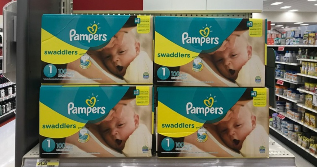 pampers at target