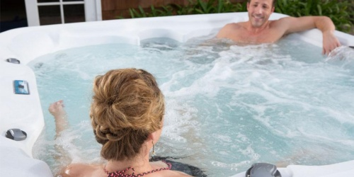 Hot Tubs and Sauna Sale + Free Delivery on The Home Depot
