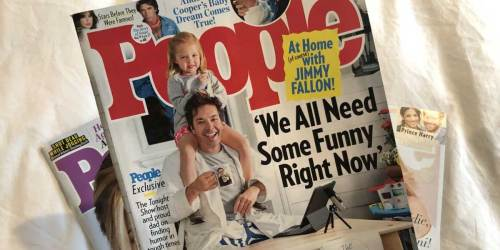 Complimentary 1-Year People Magazine Subscription ($60 Value) | No Credit Card Needed