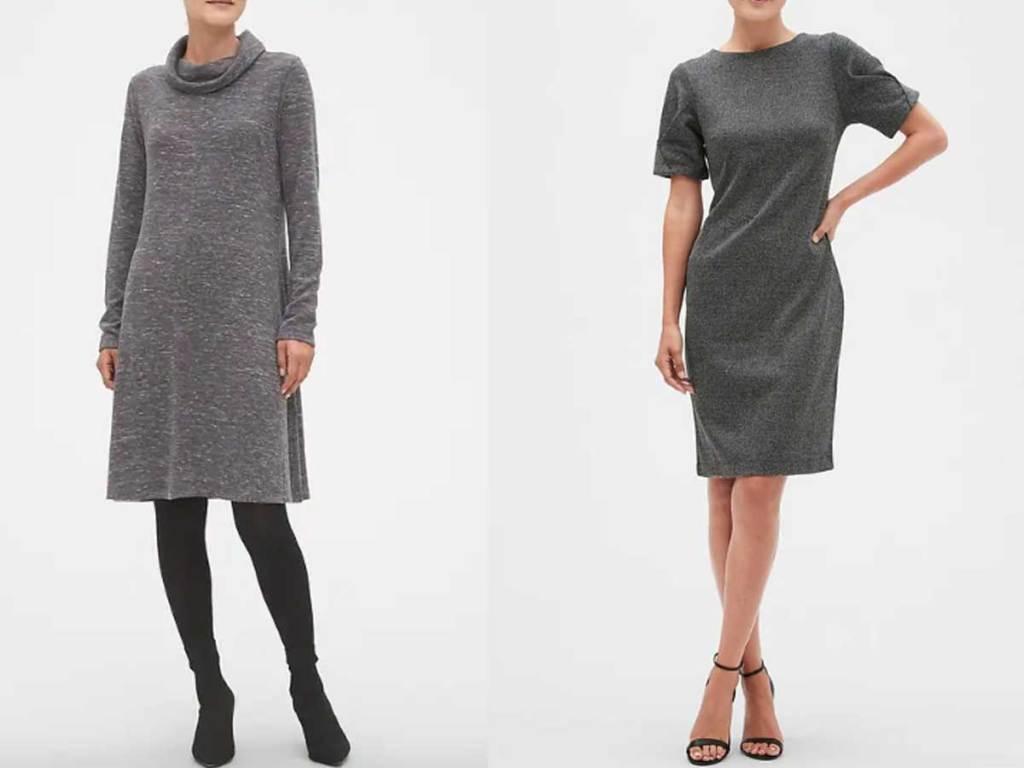 models wearing ladies dresses