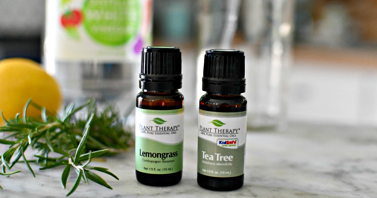 plant therapy essential oils to make cleaner