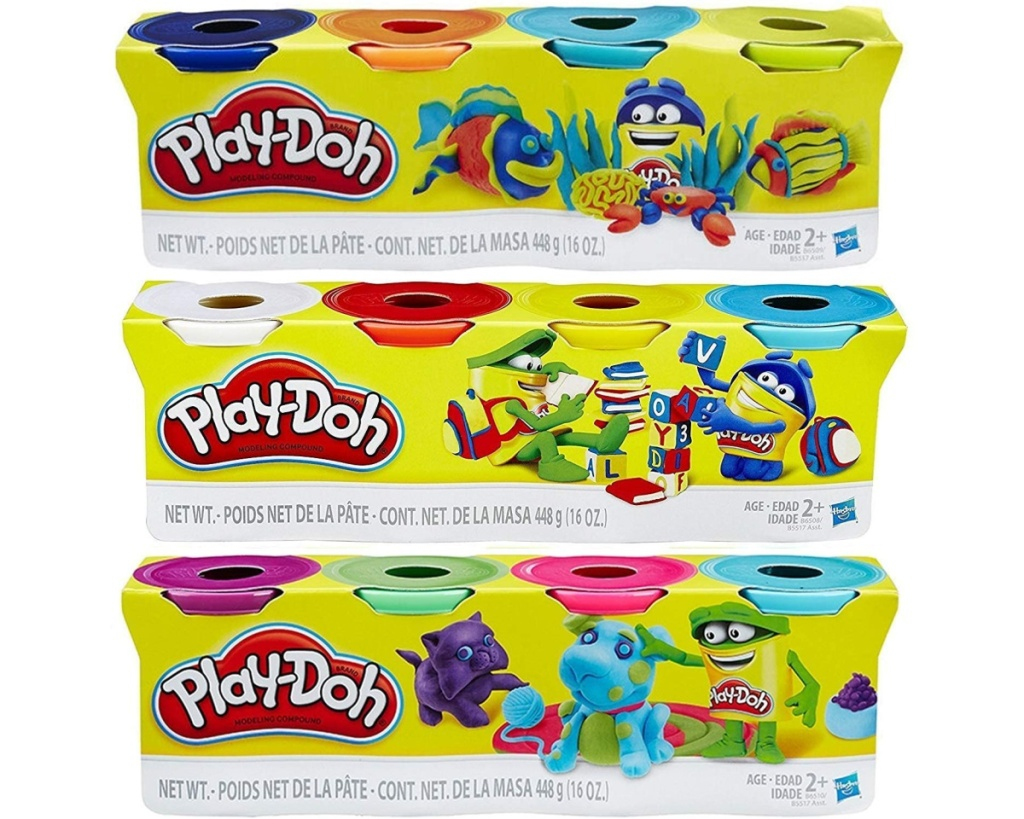 play doh 12 cans variety set